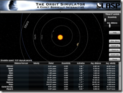 LASP Orbit Simulator Start